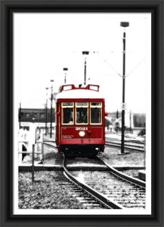 Ruby Red Market Street Streetcar