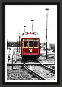 Ruby Red Market Street Streetcar