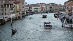 Over Venice's Grand Canal