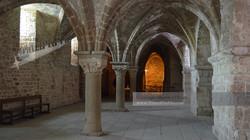 Interior Stone Vault Architecture
