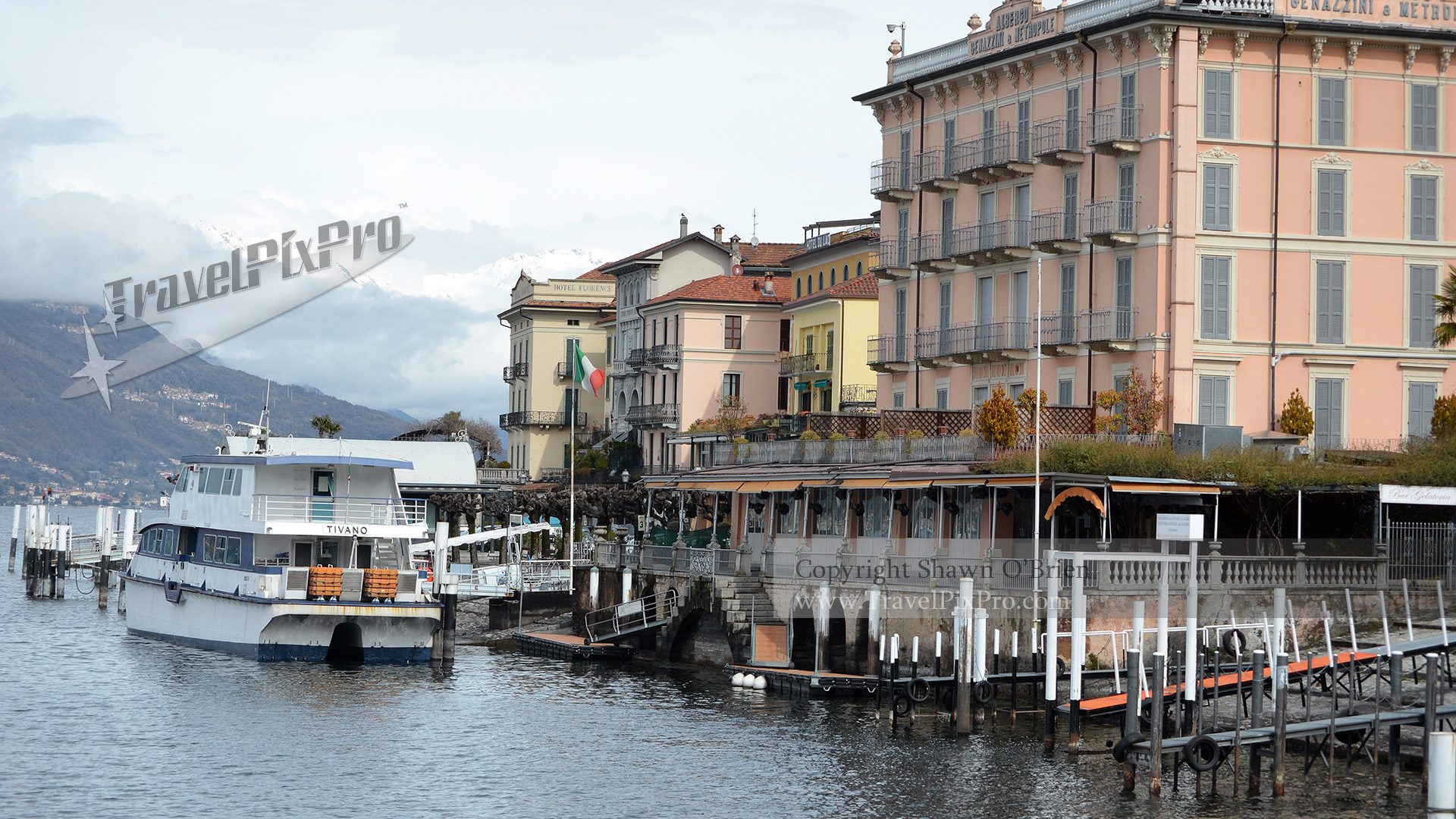 Bellagio Docks Lake Como