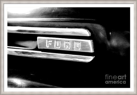 Ford Retro Fender Logo