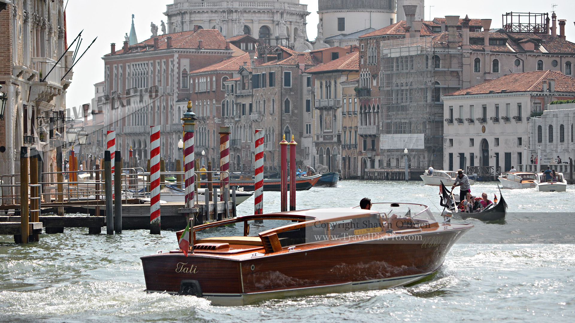 Life on the Grand Canal Venice