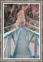 The Silver Bridge Spanning The Colorado River
