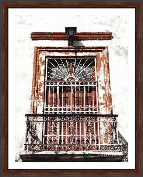 Spanish Colonial Balcony