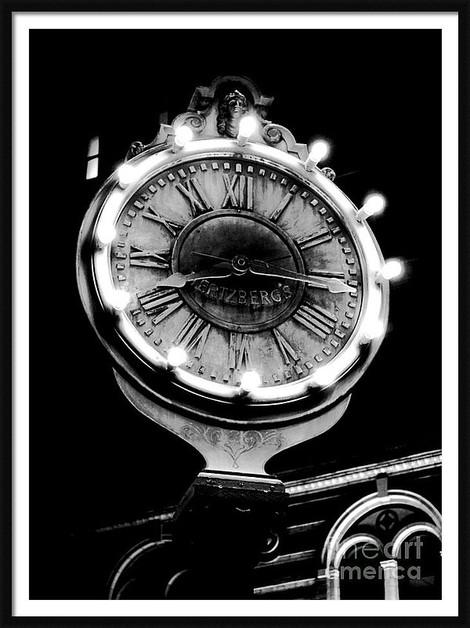 Vintage Hertzberg Clock San Antonio
