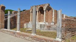 Ostia Antica Public Baths Entrance