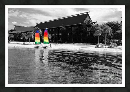Polynesian Resort Sail Boats