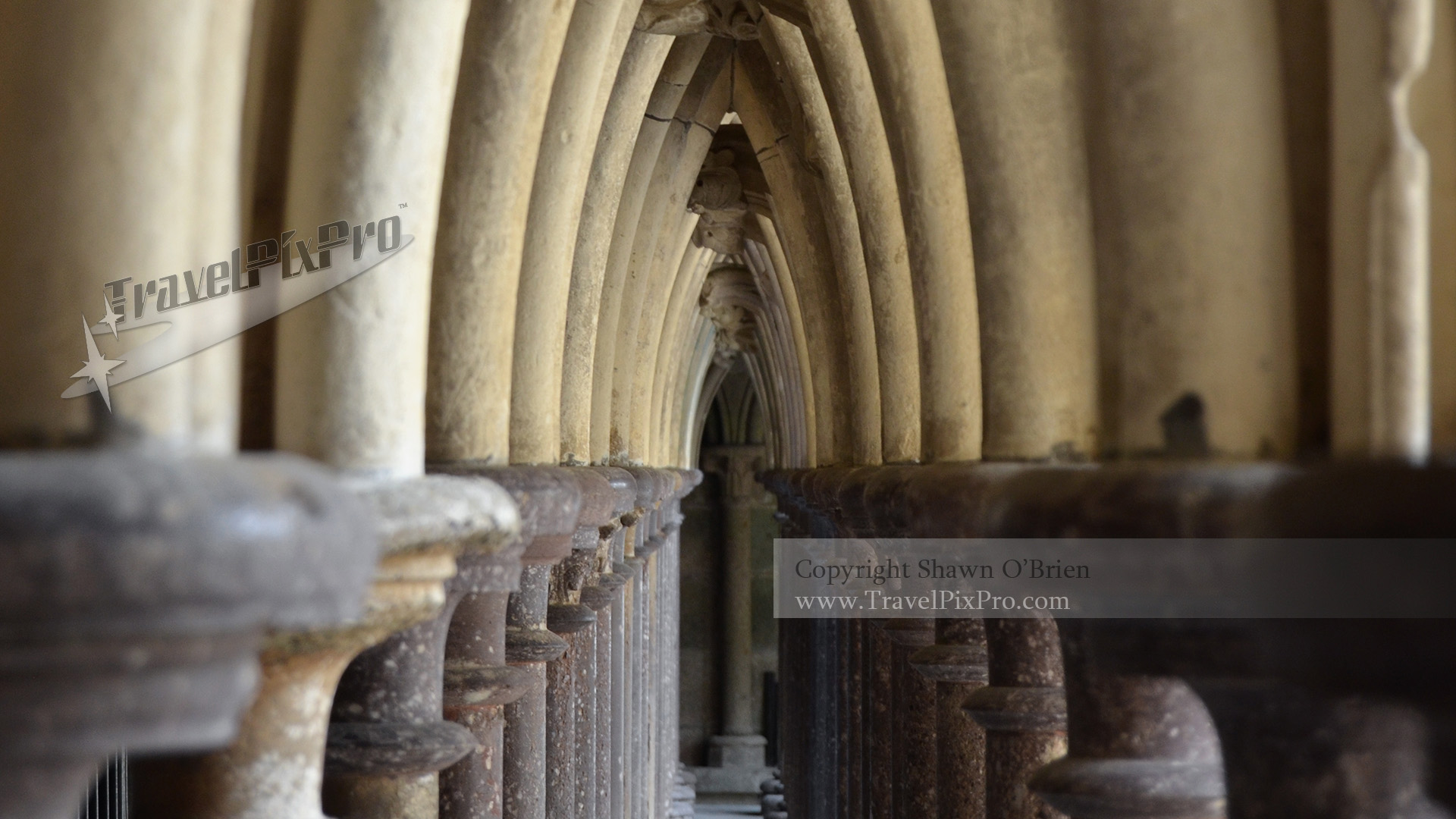 Mont Saint Michel Cloister