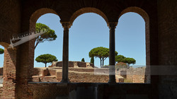 Domus del Ninfeo View Ostia Antica