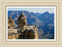 Cap Rock Formation And Vista