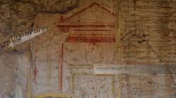 Wall Fresco at Ostia Antica