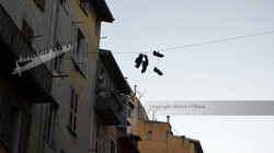Shoes on Clothesline, Old Town Nice