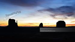 Pastel Monument Valley Dawn