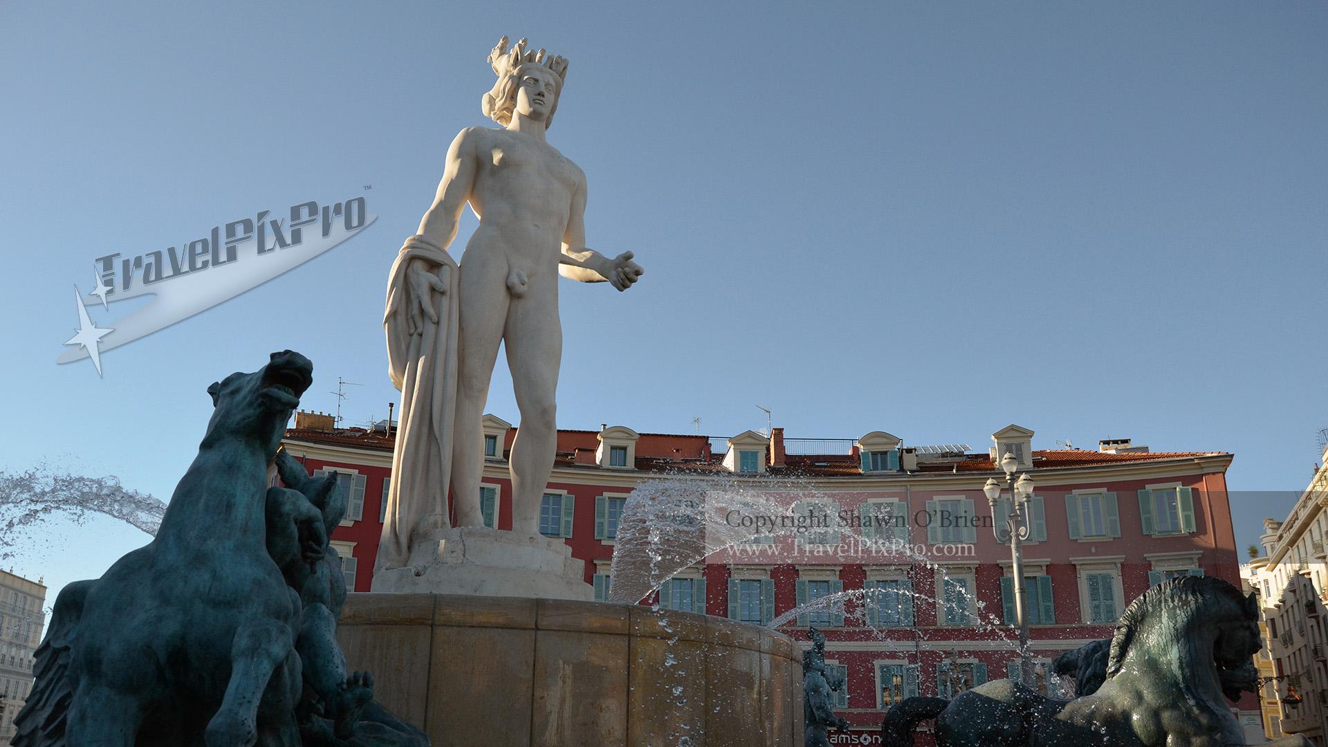 Apollo at Fountain of the Sun, Nice
