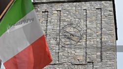 Italian Flag & Lake Como Clocktower