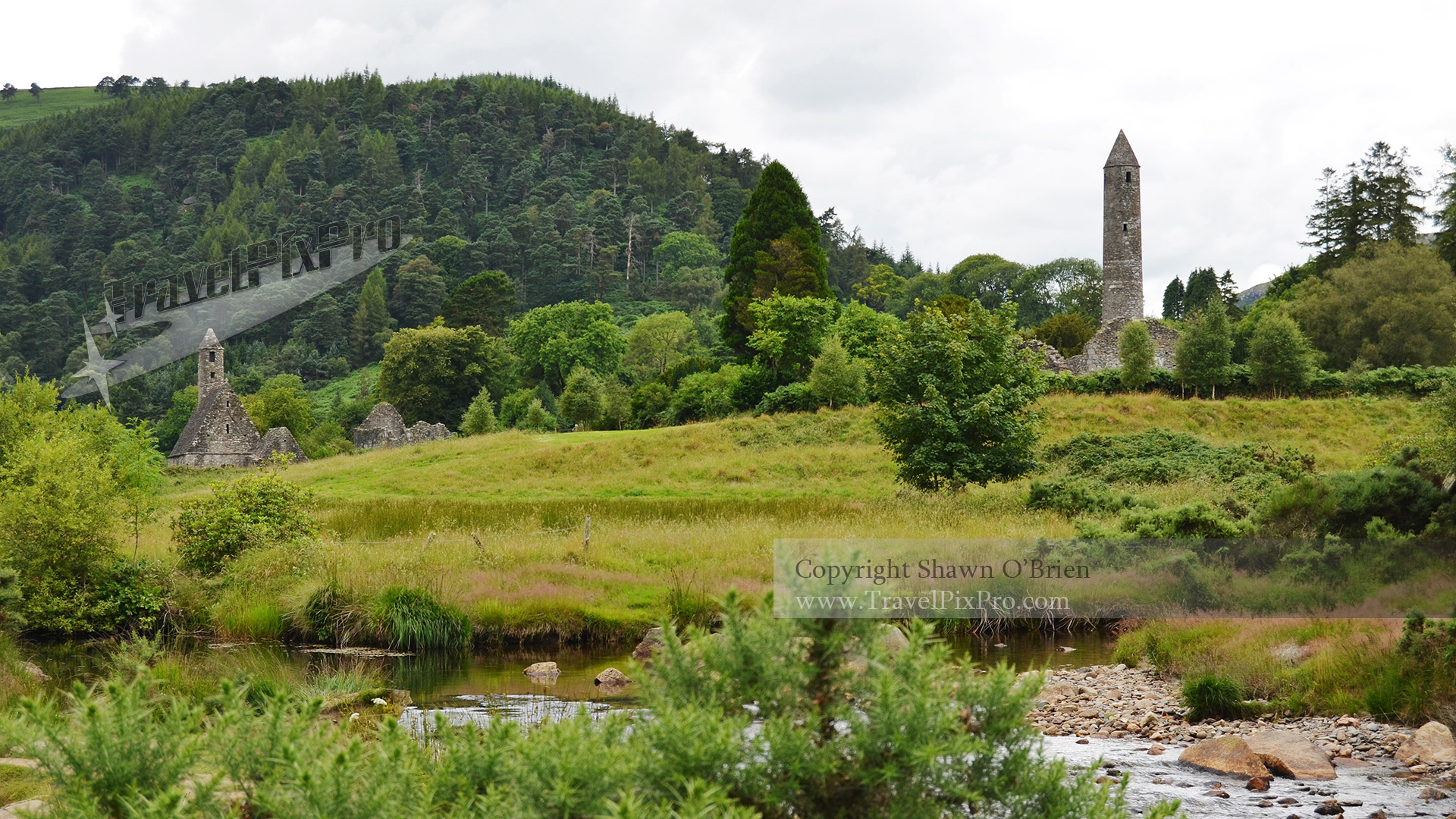 Glendalough Round Towers