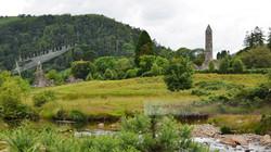 Glendalough Ireland Round Towers