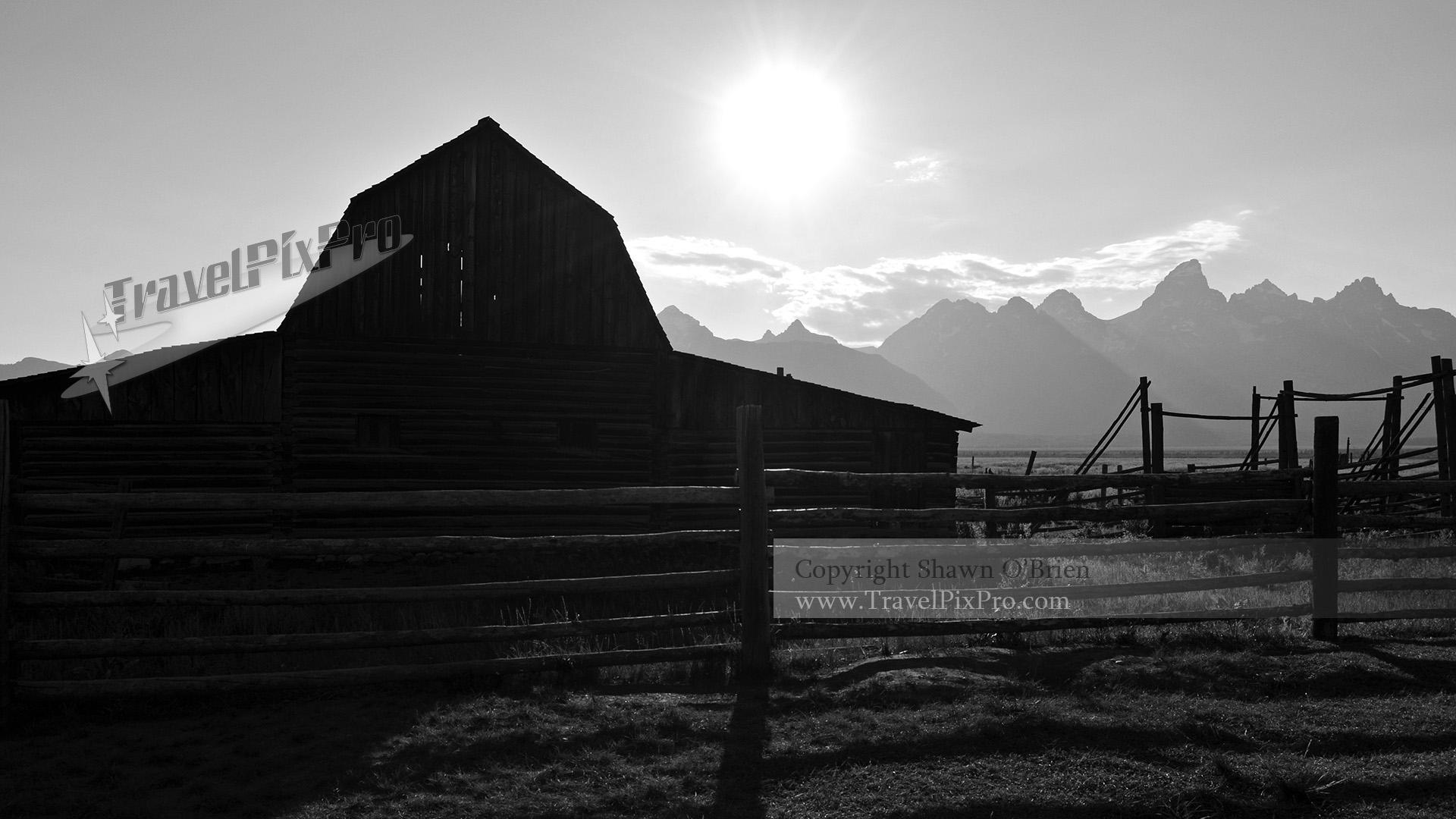 Moulton Barn Mormon Row Grand Teton