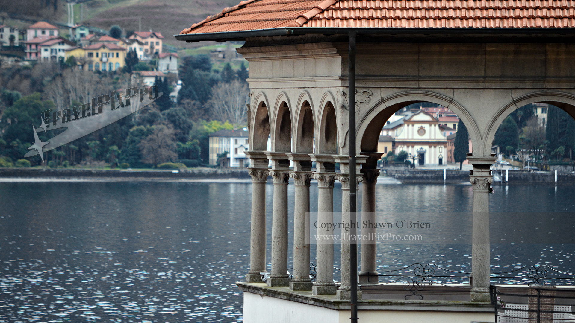 Lake Como Deck Arches