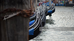 Gondola Bows Venice