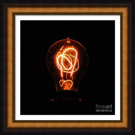 Vintage Lightbulb Filament
