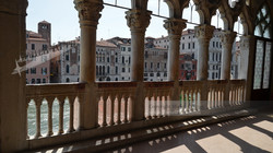Balcony over the Grand Canal