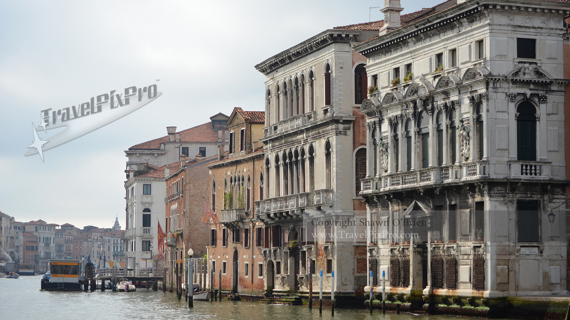 Venice Grand Canal Palaces