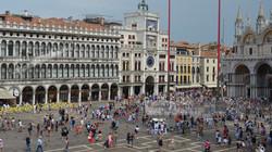 Crowd in St. Mark's Square Venice