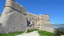 Fort Albon above Nice, France