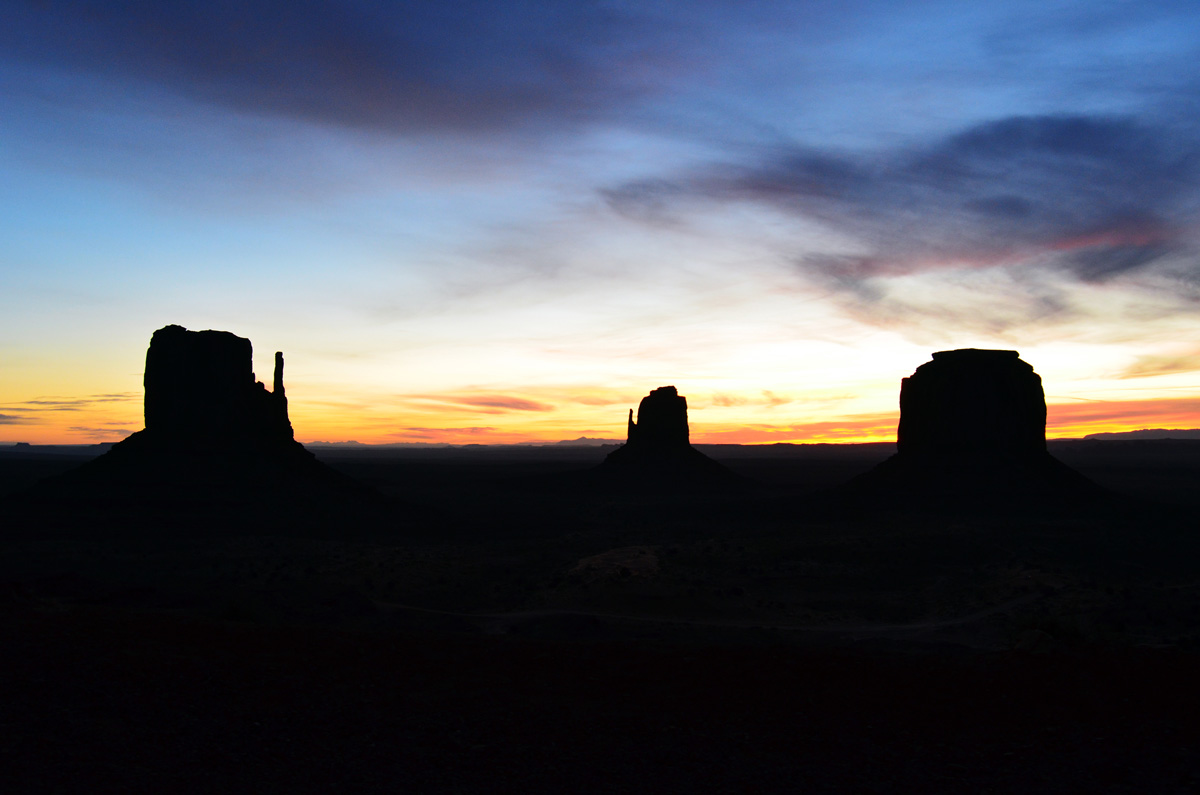 Monument Valley Dawn