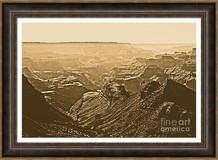 Grand Canyon Soaring Bird Of Prey