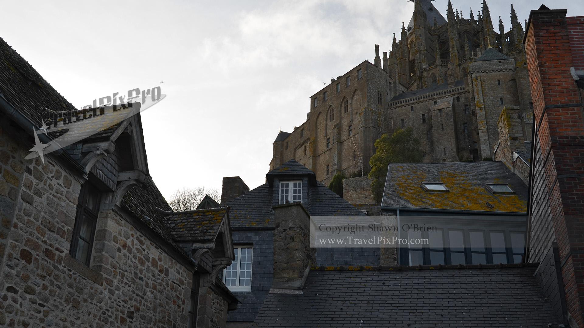 Le Mont Village Roofs below Le Mont