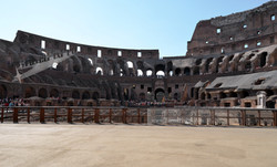 The Floor of Rome's Colosseum