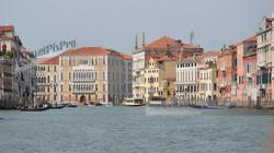 Venice's Grand Canal Waterway