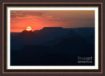 Twilight Sunset over Grand Canyon