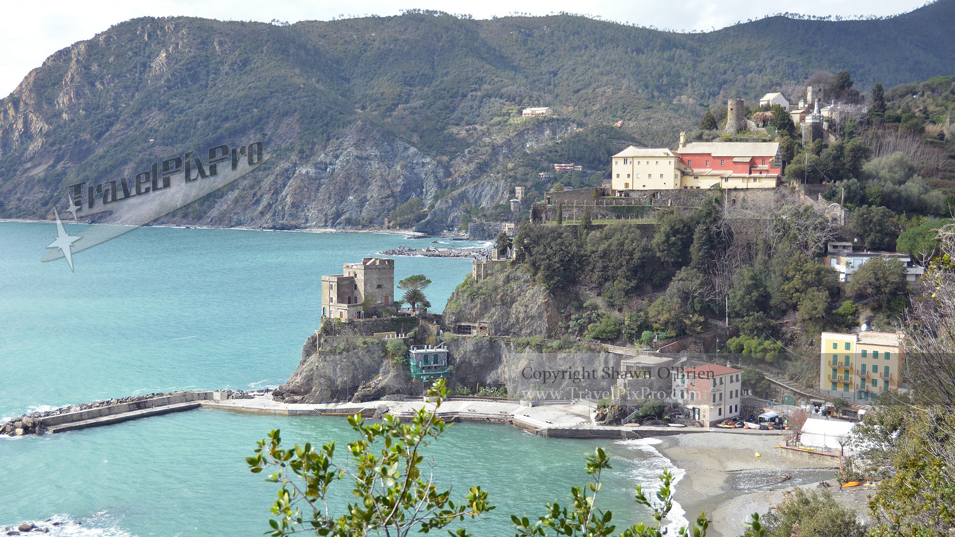 Monterosso Castle-side Harbor