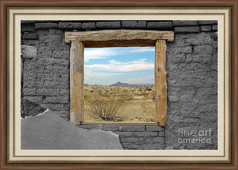 Window to Big Bend National Park