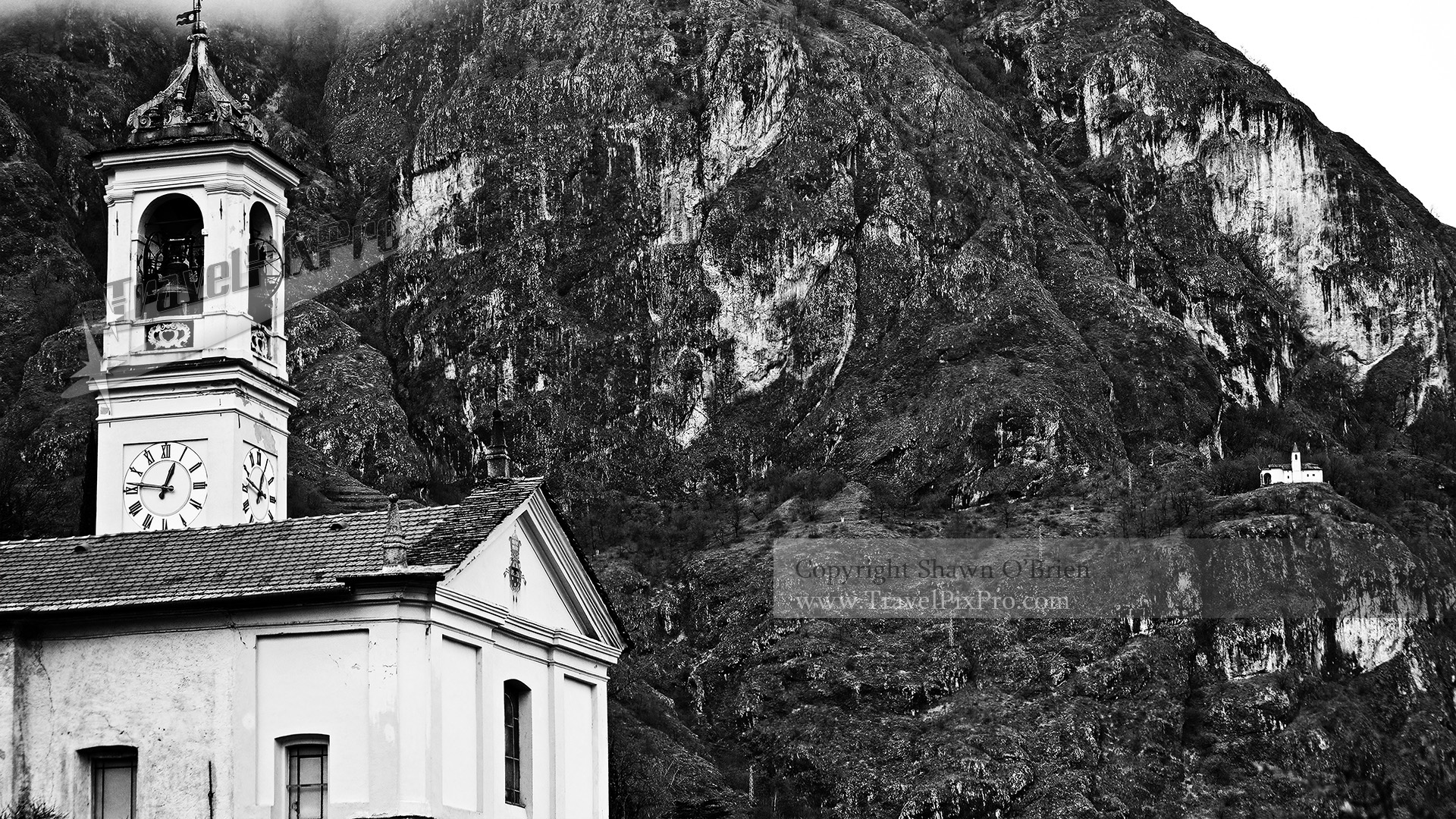 Lake Como Church & Cliff Chapel