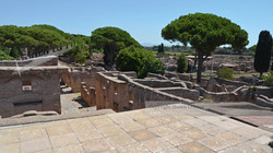 Balcony View Ostia Antica