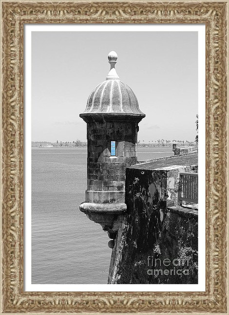 Old San Juan Sentry Tower