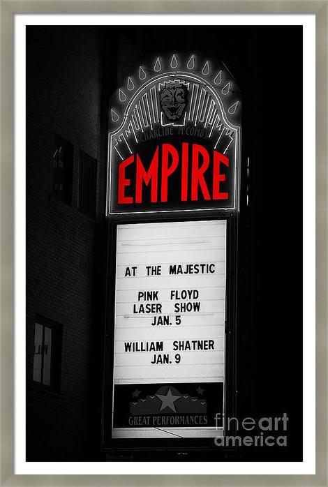 Empire Theater Marquee