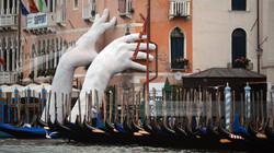 Helping Hands in Venice