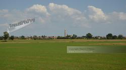 Italian Distant Village Clocktower