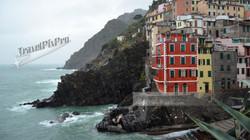 Riomaggiore Cliff Cinque Terre Italy