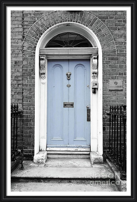 Blue Dublin Door