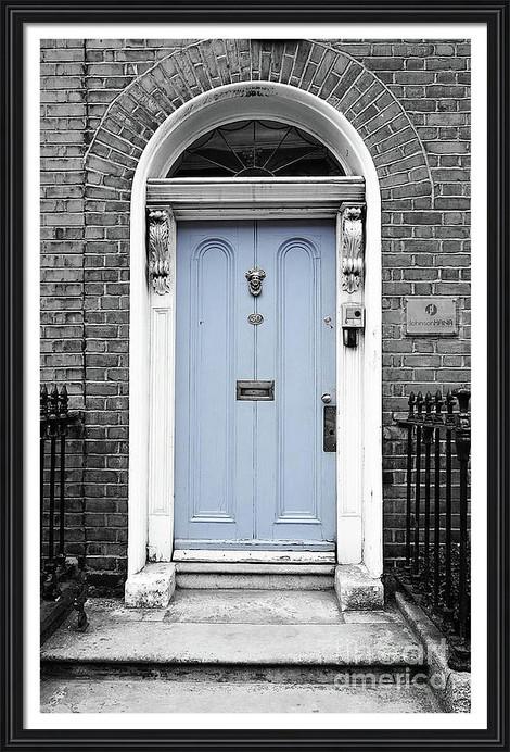Blue Dublin Door