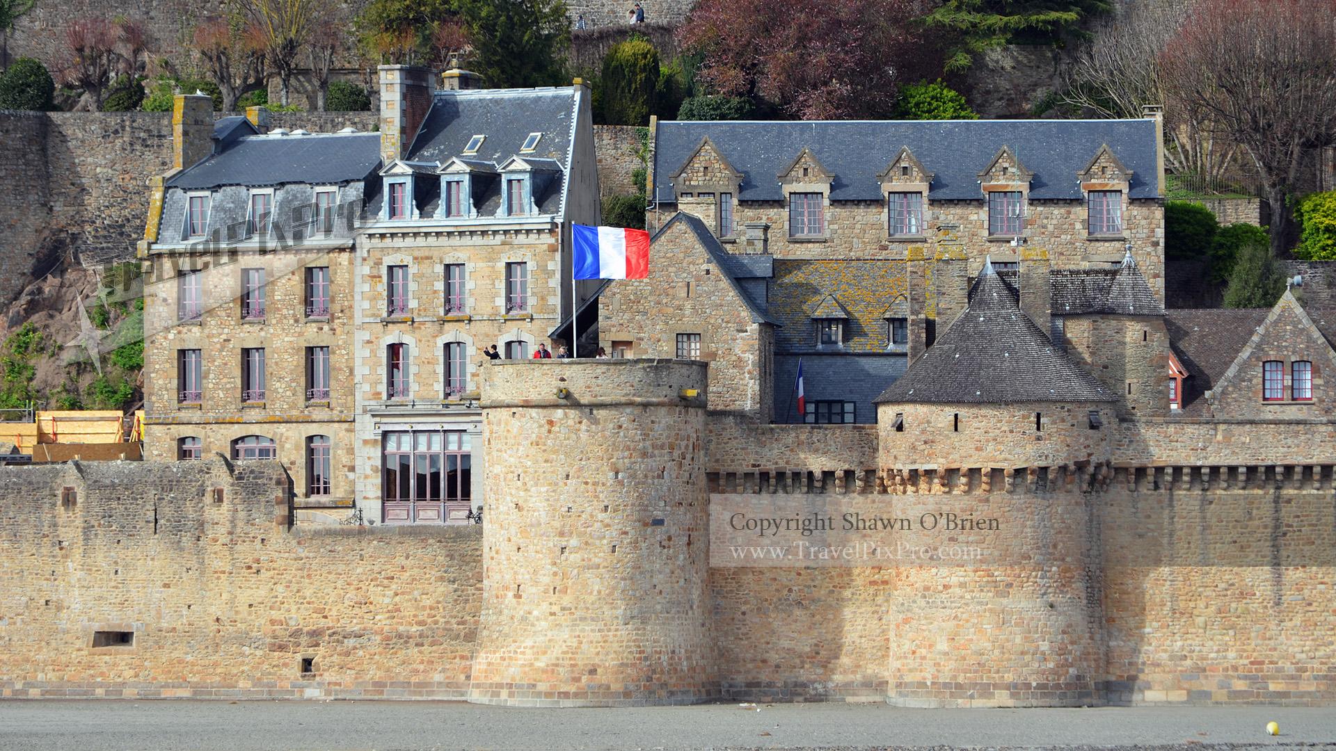 Mont St Michel Village Entrance