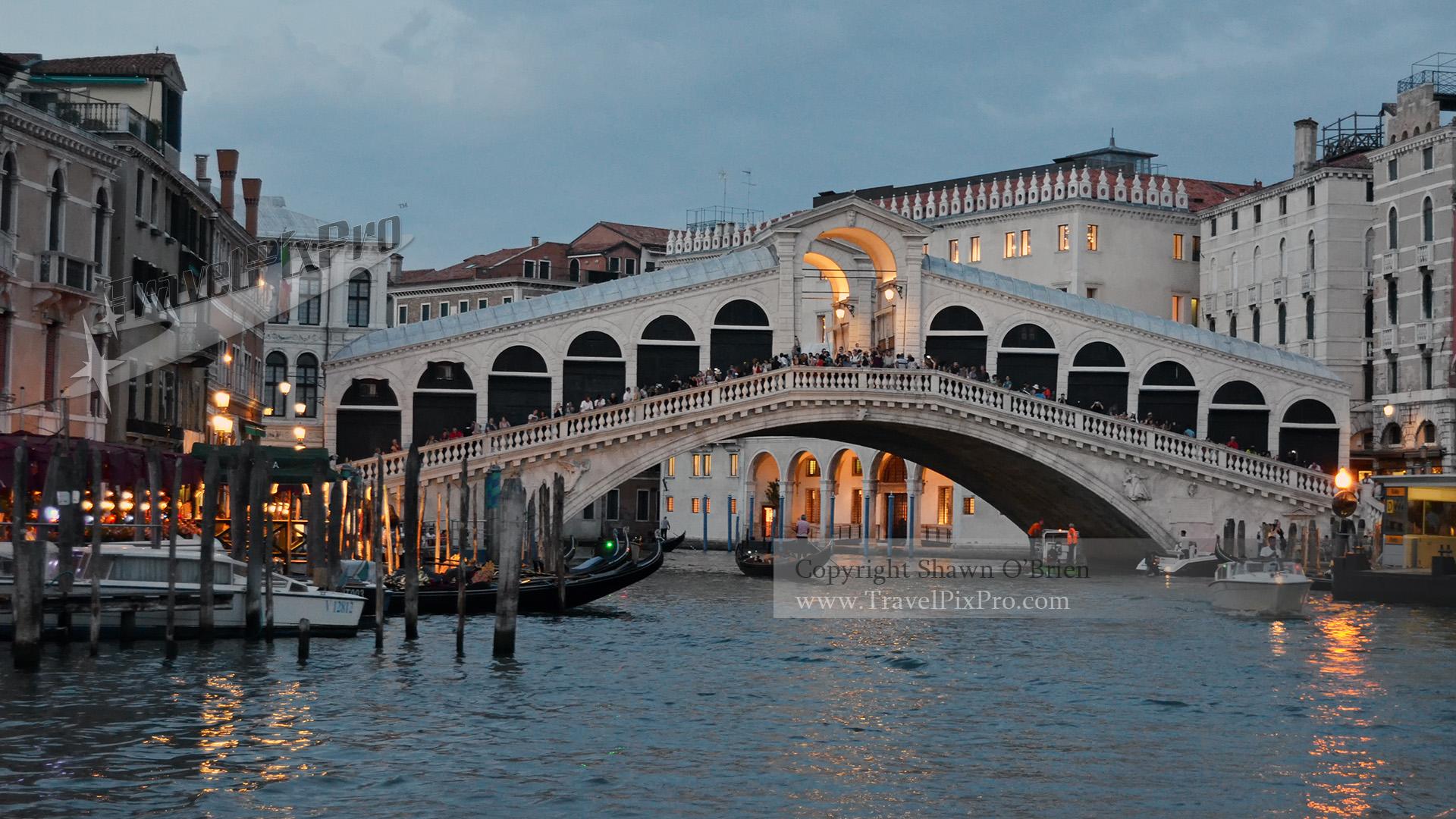 Rialto Bridge Twilight