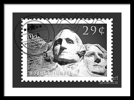 Rushmore Stamp